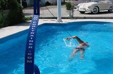 Neuware POOLTRAINER Blau  Pool Trainer Schwimmhilfe Pool Gegenschwimmanlage