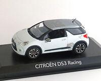 Citroen DS 3, Racing, weiss-grau, 2010, NOREV 1:43