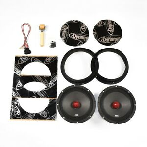 "Volkswagen Transporter T5 - LOUD Speaker Upgrade Kit Plug And Play | 8"" 600W"