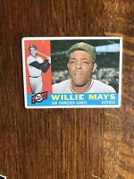 1960 TOPPS #200 WILLIE MAYS HOF SF GIANTS— WELL CENTERED💥*** (wph)