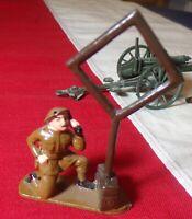 VINTAGE PRE WAR POST WAR CAST TOY SOLDIER BRITISH MAKERS SEE LISTING DETAILS!