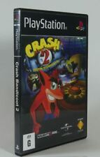 Playstation 1 PS1 - Replacement Game Case Box - Crash Bandicoot 2 Cortex Strikes