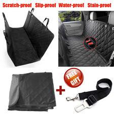 Nonslip Pet Car Back Seat Cover Cat Dog Waterproof Protector Hammock Mat Black