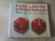 THE FUN LOVIN' CRIMINALS - SING (THE FUN LOVIN' CRIMINAL) - UK CD SINGLE