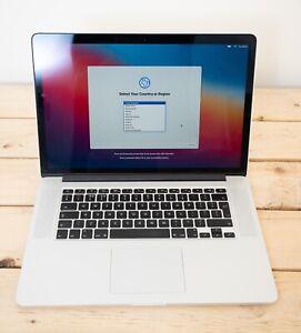 Macbook Pro 15 Inch 2.2Ghz Quad Core 16GB Ram 256GB SSD Model A1398. MJLQ2B/A