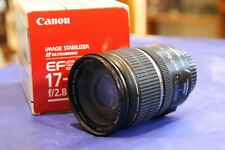 Canon EF-S 17-55mm F2.8 AF IS USM Lens
