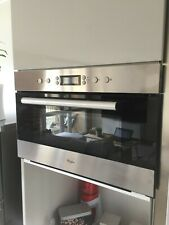 Whirlpool Genesis Plus Line AMW 7031 IX Four micro-ondes grill intégrable 1000w