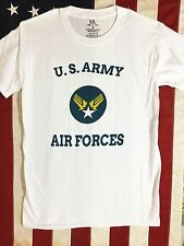 WWII U. S. Army Air Force AAF Hap Arnold Winged Star T Shirt Mens sz S -XL