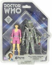 DOCTOR DR WHO PERI AND ROGUE CYBERMAN FIGURES ATTACK OF THE CYBERMEN NEW SEALED