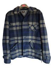 Lee Men's Winter Coat - Wool, Size M