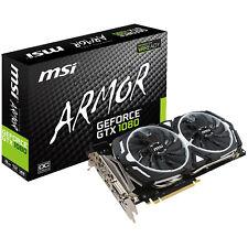 MSI GeForce GTX 1080 Armor 8g OC 8192 MB Gddr5x