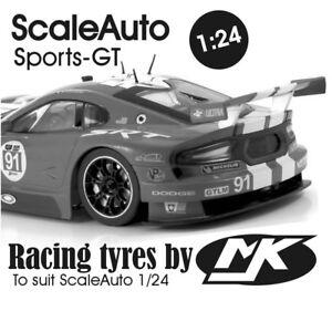 ScaleAuto 1/24 Sports-GT Race tyres - MJK#4118