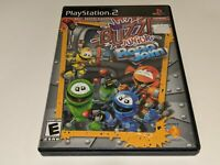 BUZZ! JUNIOR ROBO JAM Sony Playstation 2 PS2 Video Game Buzzer Trivia COMPLETE