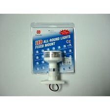 FEU DE MOUILLAGE A LED 360° ALU/PVC BLANC C25010WC