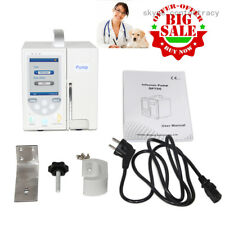 VET Animail Volumetric Infusion Pump IV & Fluid Syringe Equipment,Alarm USB LCD