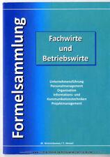 Formelsammlung Fachwirte und Betriebswirte v. Madlen Ventzislavova 3844803211