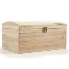HolzFee Holz-Schatulle Holz-Truhe Holzkiste Holzbox Holz-Kassette A4 Schatztruhe