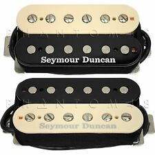 Seymour Duncan SH-18n Whole 'Lotta Humbucker Custom Zebra Guitar Pickup Set NEW