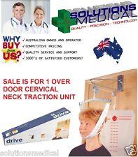 OVER DOOR CERVICAL NECK TRACTION UNIT DEVICE HEAD OVERDOOR HANGING BRACE