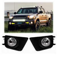For 2012 TOYOTA TACOMA Bumper Clear Fog Lights Lamps w/Switch/Wiring Pair