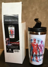 BRAND NEW Mighty Morphin Power Rangers Drinking Tumbler and Key Chain