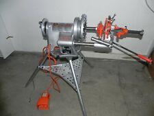 Ridgid 300 power threader with carriage, Reamer, Cutter, die head. Rigid 115 V