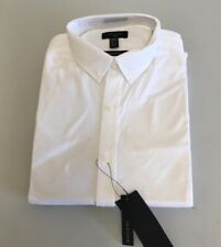 New Look men long sleeve white shirts Size M {N143}