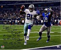 EZEKIEL ELLIOTT Dallas Cowboys STATS Autographed 8x10 Signed Photo Reprint
