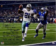 EZEKIEL ELLIOTT Dallas Cowboys STATS Autographed 8x10 Signed Photo Reprint