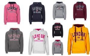 Womens London Hoodys Sweatshirts Ladies England Union Jack Tops Super Quality