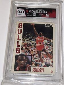 MICHAEL JORDAN 1992 93 TOPPS ARCHIVES #52 HGA 9.0 MINT CHICAGO BULLS - GOAT