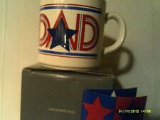 RARE VTG 1970'S Avon DAD'S MAGIC MUG-SPECIAL GREETING- NEW IN BOX-FREE SHIPPING