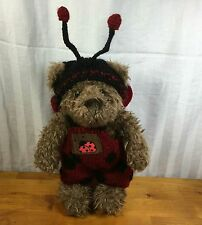 Ganz 1997 Buggable Lady Bug Bear Knitted Outfit 2625 13 inch