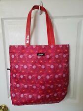 LANCOME PARIS Cosmetic PINK DECO Tote Bag BRAND NEW Flamingos Lips Lollipops