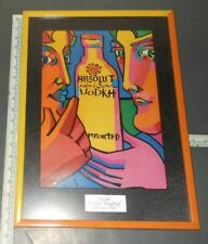 ABSOLUT VODKA FRAMED MAGBAG LIMITED GIFT BAG ART IVAN JENSON