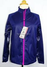 New Women's Sun Mountain Navy & Pink J1 Wind Golf Jacket S NWT 100% Windproof