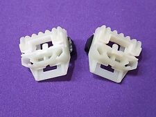 VW New Beetle Window Regulator Repair Clips FRONT left or right pair upgraded