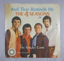 FOUR SEASONS 45 RECORD PICTURE SLEEVE CREWE AND THAT REMINDS ME FRANKIE VALLI