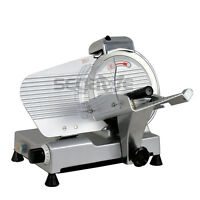 "Premium 10"" Blade Commercial Deli Meat Cheese Food Electric Slicer Chef's Choice"