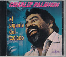 CD Mega RARE Fania FIRST PRESSING Charlie Palmieri EL GIGANTE DEL TECLADO coco