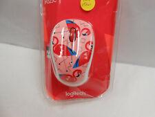 NEW Logitech M325 Wireless Mouse ( Pink Flamingo)