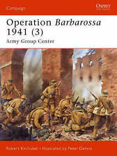 Operation Barbarossa 1941: Army Group Center: v. 3 (Campaign), Very Good Conditi