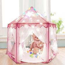 Spielzelt Kinderzelt Kinderspielzelt Bällebad Schloss Prinzessin Sternlicht SE