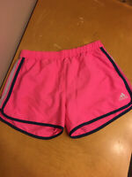 ADIDAS Climalite Woman's Size Small Marathon Running Athletic Shorts Pink