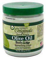 Ultimate Organics Extra Virgin Olive Oil Body Whip Moisturizing Cream 450ml