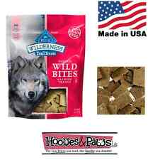 Blue Buffalo Wilderness Salmon Wild Bites Natural Healthy No Grain MADE IN USA