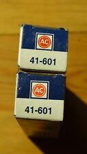2X Bujías AC Delco 41-601 NUEVO