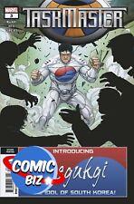TASKMASTER #3 (2021) 2ND PRINTING VITTI VARIANT COVER MARVEL COMICS