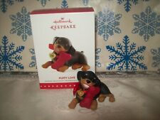 New ListingHallmark Puppy Love #25 Series 2015 Christmas Keepsake Ornaments Doberman Dog