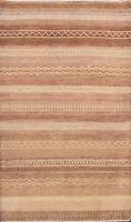 Geometric Gabbeh Kashkoli Oriental Area Rug Wool Hand-knotted Modern 3x5 Carpet